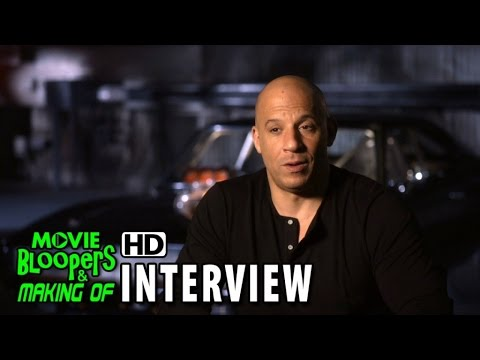 Furious 7 (2015) Behind the Scenes Movie Interview - Vin Diesel (Dominic Torretto)