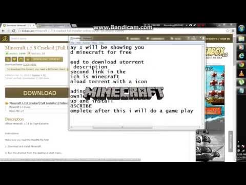 How To Download Minecraft For Free{torrent}2015