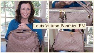 NEW Louis Vuitton Ponthieu PM