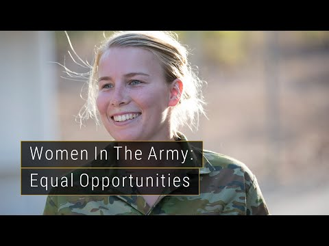 Women in the Army - Equal Opportunities