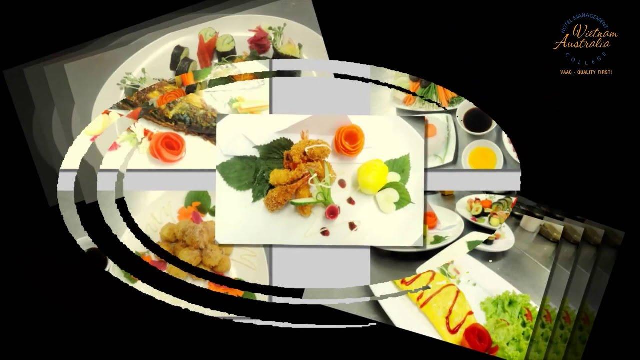 Hình ảnh các lớp bếp của Trường QLKS Việt Úc (VAAC)