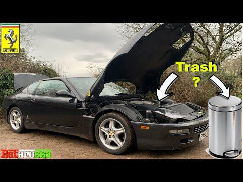 I Used a Trash Can to Fix My Ferrari 456