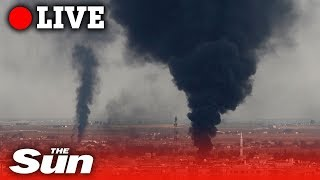Live fire exchanged over Turkey-Syria border | LIVE