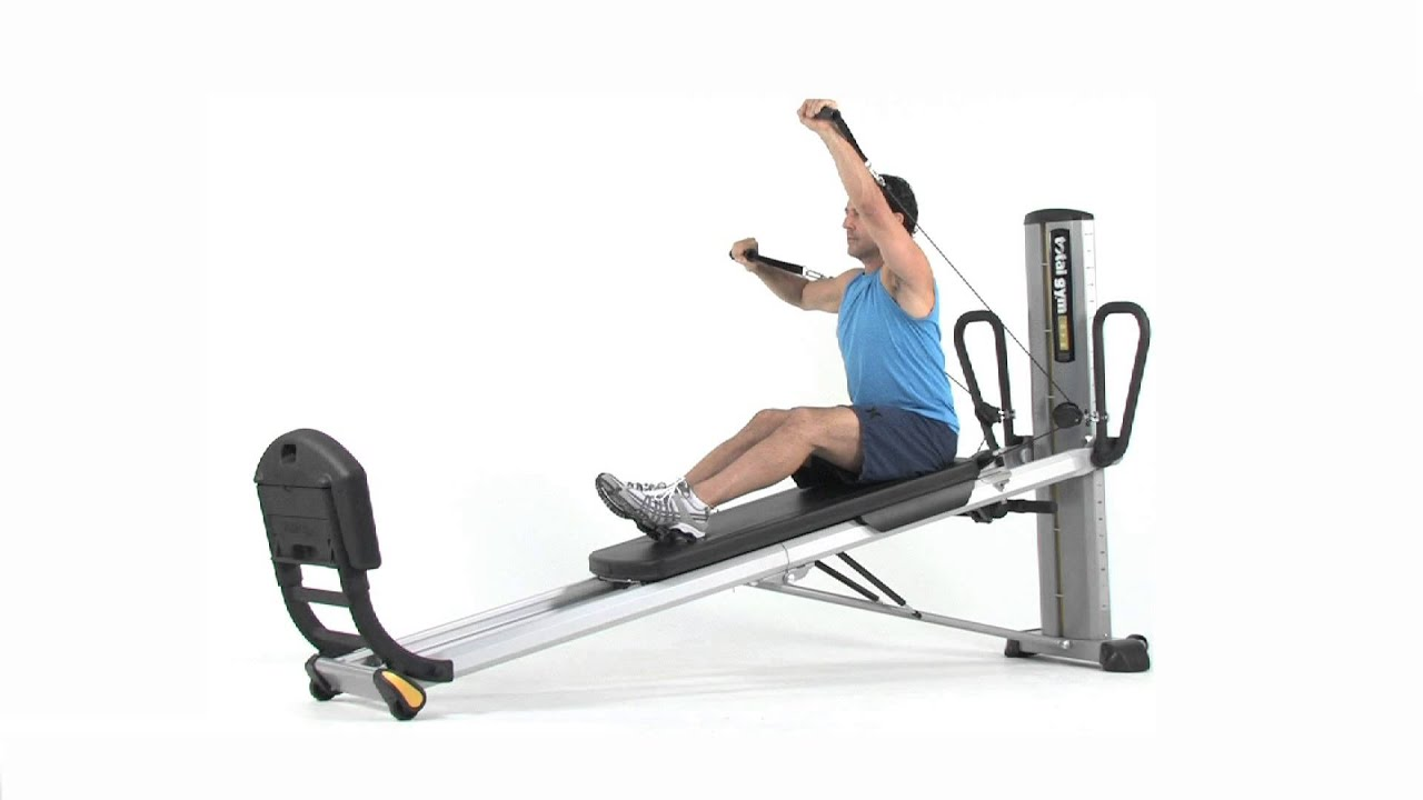 Total Gym Exercise Seated Forward