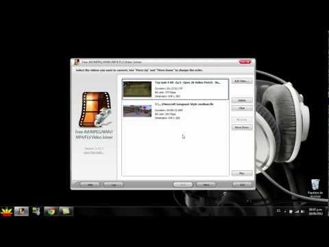 || Como Convertir Y Unir videos En HD 1080p || Facil Y Sencillo ||