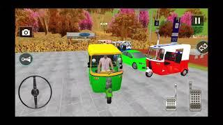 عربة توك توك-محاكاة القيادة-العاب سيارات Auto Tuk Tuk Rickshaw Driving screenshot 1