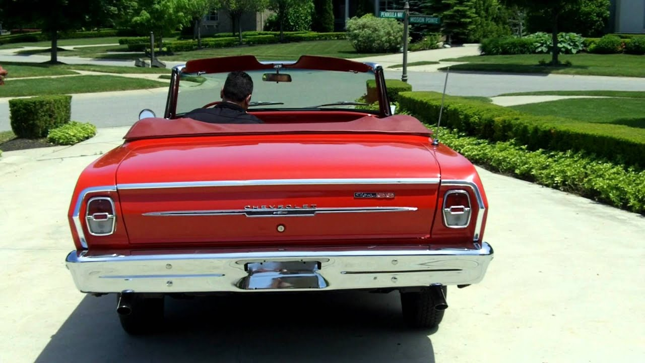 1963 Chevy Nova SS Convertible Classic Muscle Car for Sale in MI ...