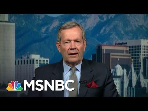 Utah Governor: Donald Trump Has A Problem In Utah | MSNBC