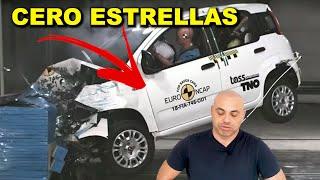 ¡AÚN CIRCULAN! LOS PEORES CRASH TEST DE COCHES ACTUALES (¡y también los mejores!)