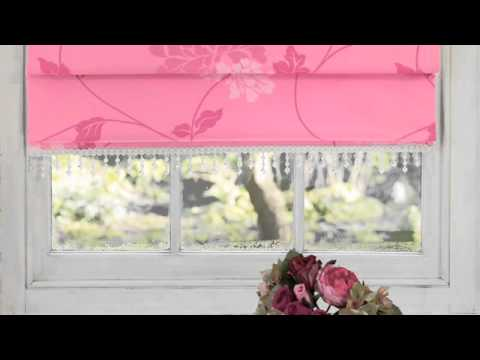 How To Measure For Roman Blinds Laura Ashley Youtube