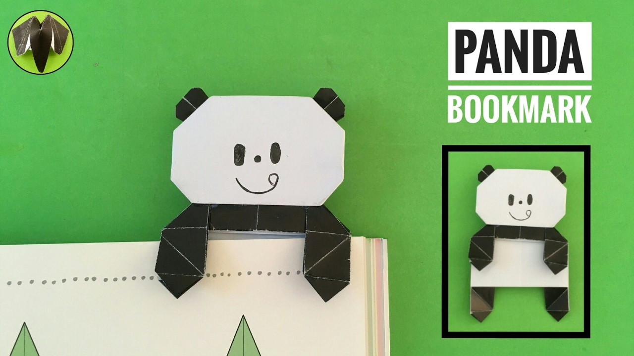 Panda Bookmark By Mizutama