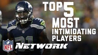 Top 5 Most Intimidating Players in the NFL | Shawn Merriman on Good Morning Football | NFL Network