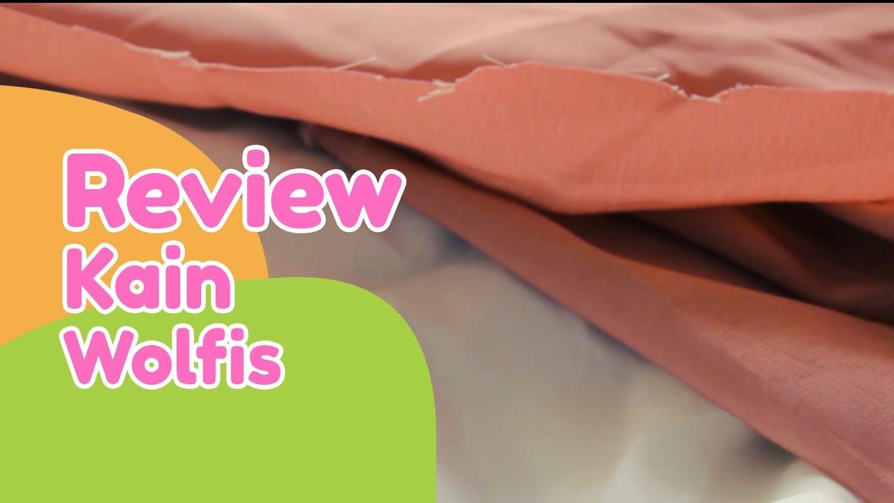 Download Review kain wolfis untuk baju gamis #ReviewprodukBajuyuli