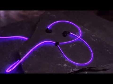 Светящиеся наушники Glow EL свечениеиз YouTube · С высокой четкостью · Длительность: 1 мин50 с  · Просмотров: 602 · отправлено: 27.10.2015 · кем отправлено: Salavat Nurulin