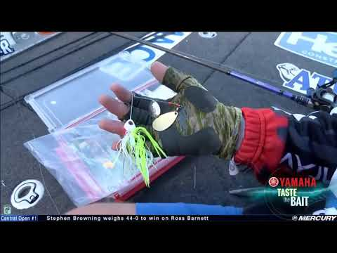Taste the Bait: Wesley Strader builds a spinnerbait in the boat
