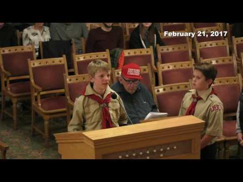 Salt Lake City Council Formal Meeting 2/21/2017