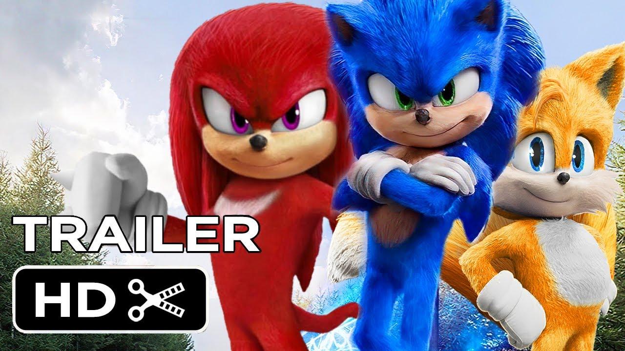 Sonic the Hedgehog 20 2002020   Full Conceptual Trailer HD
