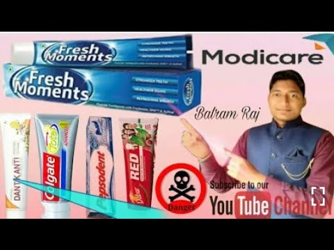 India's No.1 Toothpaste Fresh Moment demo.