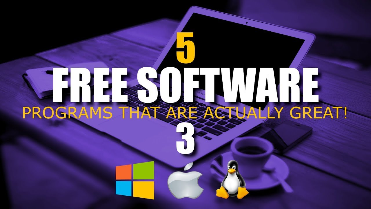 5 Free Software That Are Actually Great! 3 (2017)