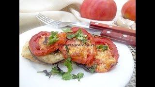 Филе минтая запеченное с овощами - вкусное, быстрое и очень полезное блюдо