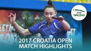 2017 Croatia Open Highlights: Honoka Hashimoto Vs Sofia Polcanova (Final)
