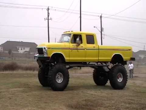 Ford Truck LIFTED TO THE SKY - YouTube