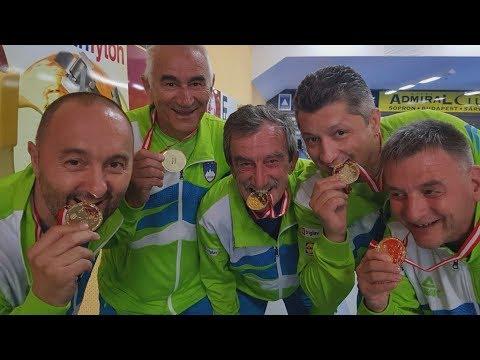 Predstavitev evropskih ekipnih prvakov v kegljanju gluhih