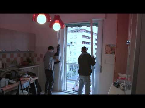Il montaggio di una finestra in pvc dolcetti doovi - Montare una finestra ...