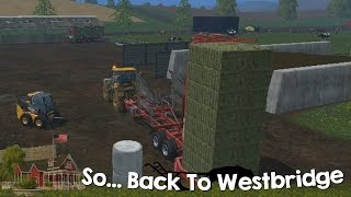 Farming Simulator 15 XBOX One So Back to Westbridge Hills Episode 8