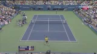 Rafael Nadal Monster Forehand 2013 [HD]