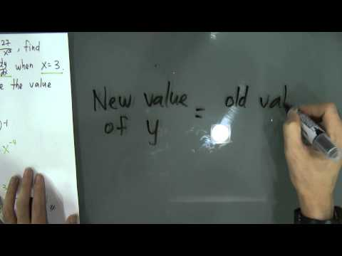 SPM - Form 4 - Add Maths - Approximate Small Change (Differentiation)