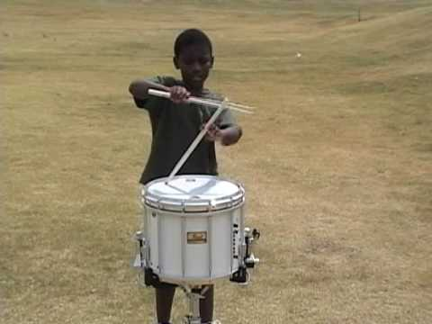 Jays Snare Drum Solo Phantom Phire OLD VIDEO 2007