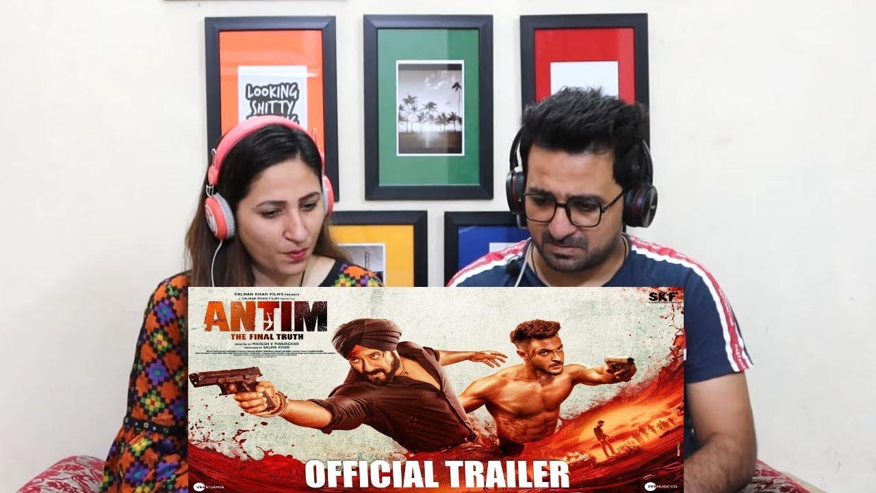 Download Pak Reacts to ANTIM: The Final Truth, Official Trailer, Salman Khan, Aayush Sharma, Mahesh Manjrekar