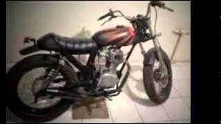 Modifikasi Motor Honda CB Jap Style Terbaik Tahun Ini