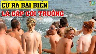 Sự Thật Ngã Ngửa Ở Mexico - Nơi Người Ta Cấm Mặc Đồ Trên Bãi Biển