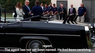 Secret Service agent on Trump detail dies following stroke