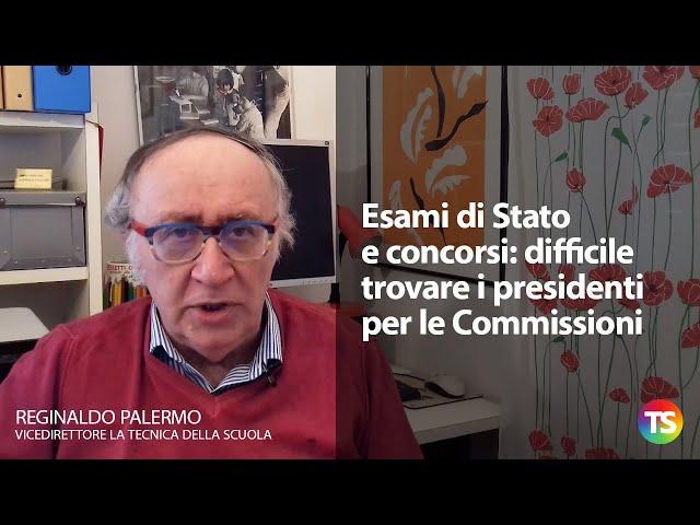 Esami di Stato e concorsi: difficile trovare i presidenti per le Commissioni
