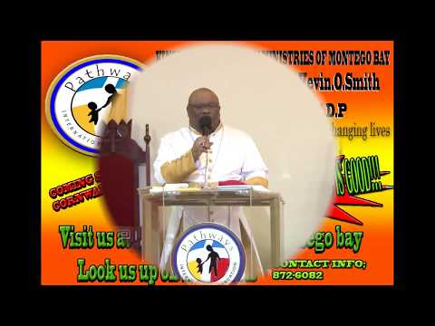 His Excellency Dr Kevin O. Smith- Standing on the word of God