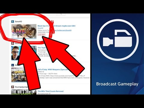 How to Put a Custom Thumbnail on a PS4 Broadcast Live Stream – Tutorial [Working 2017]