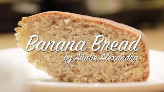 Banana Bread In 90 Seconds