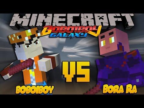 BoBoiboy The Movie - BOBOIBOY VS BORA RA - Minecraft Animation [#11]