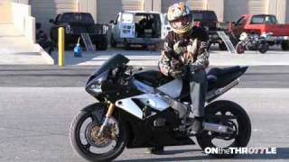 Stunter Sessions- How to Wheelie part 2