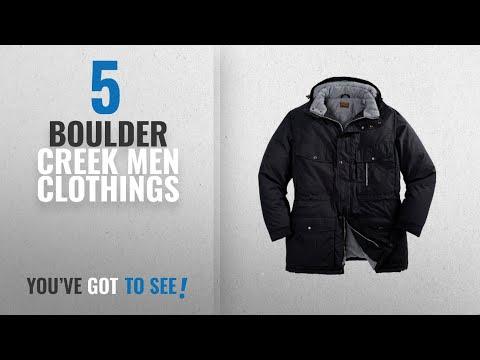 Top 10 Boulder Creek Men Clothings [ Winter 2018 ]: Boulder Creek Men's Big & Tall Expedition Parka,