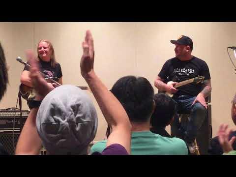 Josh Smith and Matt Schofield Special Guitar Clinic @ Tokyo Ginza Yamano Hall 2017/10/03
