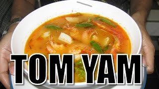 Tom Yum Soup Recipe - Resep Tom Yam Udang Bakso Ikan