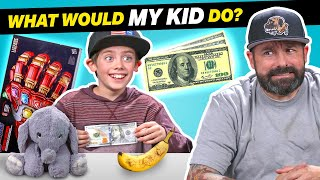 Parents Try Guessing What Their Kid Will Do With $100 (Infinity Gauntlet, Pokemon)