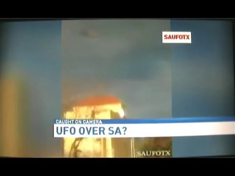 NEWS 4....Did a UFO Hover over Downtown San Antonio February 2016?