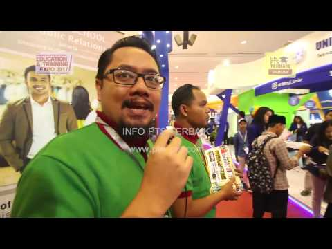 Stand Info PTS Terbaik pada Pameran Education dan Training Expo di JCC