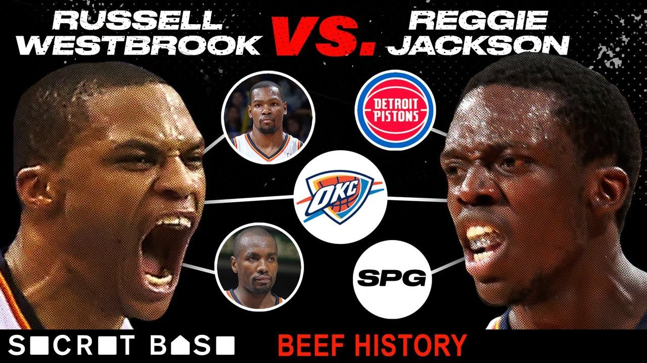 Russell Westbrook and Reggie Jackson beefed because there can only be one starting point guard