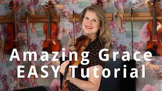 How to Play Amazing Grace on Violin: EASY Beginner Tutorial